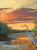 Egret Sunset