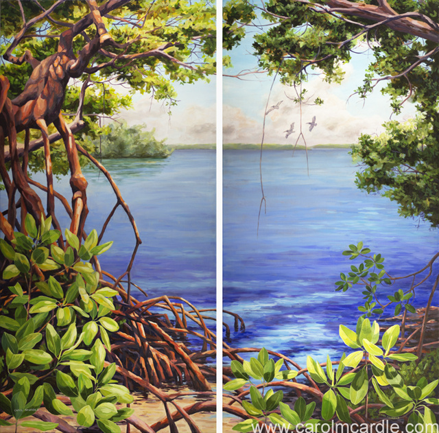 Mangrove Beauty 1 and 2
