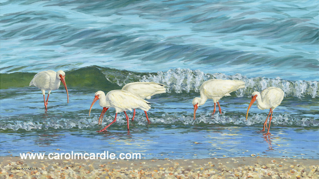 Supper in the Surf 26x46